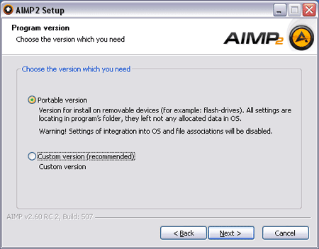 Aimp2 Install Portable Version