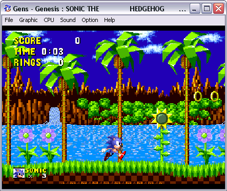 Gens SEGA Game Emulator
