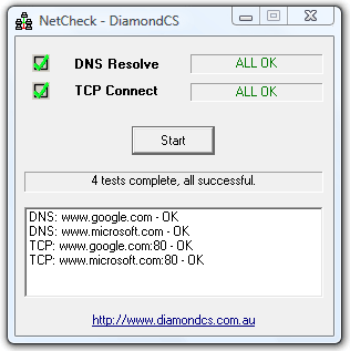 NetCheck full screenshot