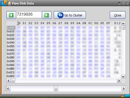 Disk Wiper Hex Data