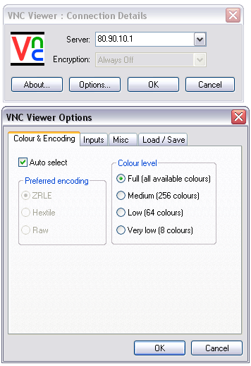 RealVNC - Portable VNC Viewer