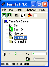 TeamTalk Screenshot