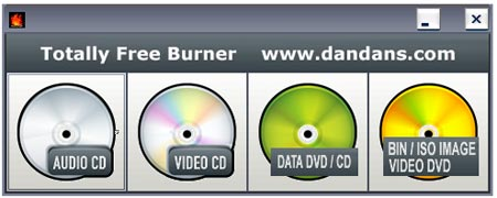 Totally Free Burner - Portable DVD and CD Burner