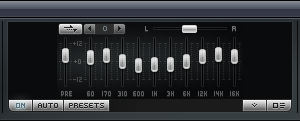 Winamp Equalizer Screenshot